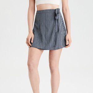Flowy Wrap Mini Skirt from American Eagle.